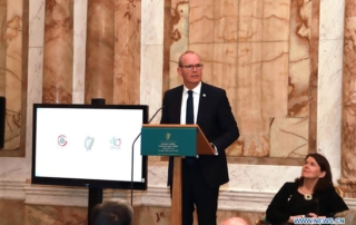 Irish Deputy Prime Minister Simon Coveney