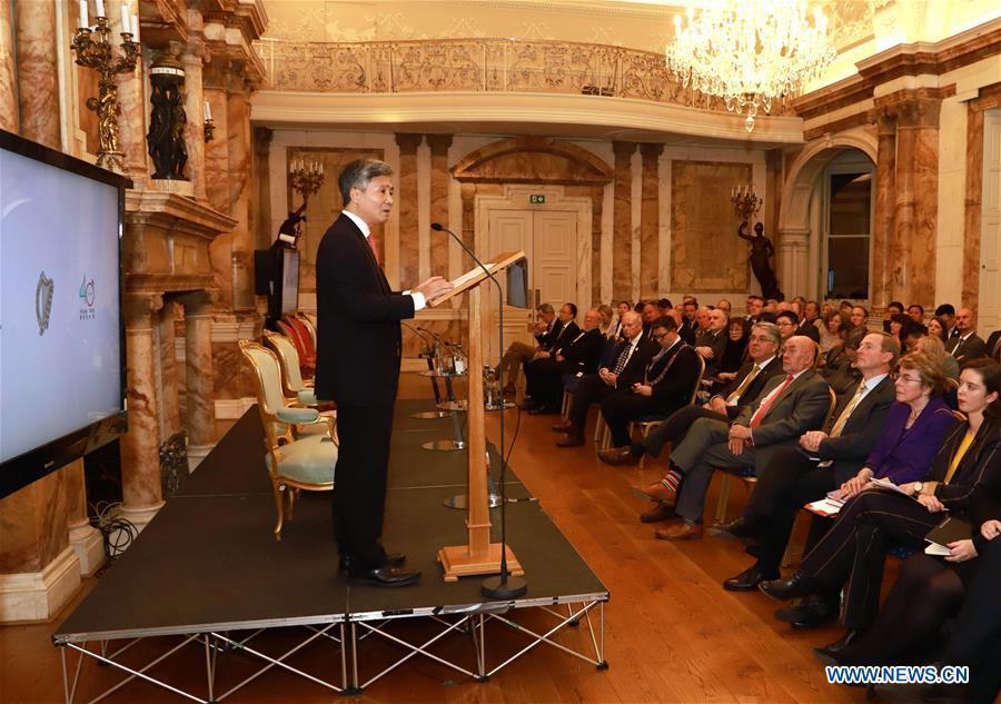 Chinese Ambassador to Ireland He Xiangdong